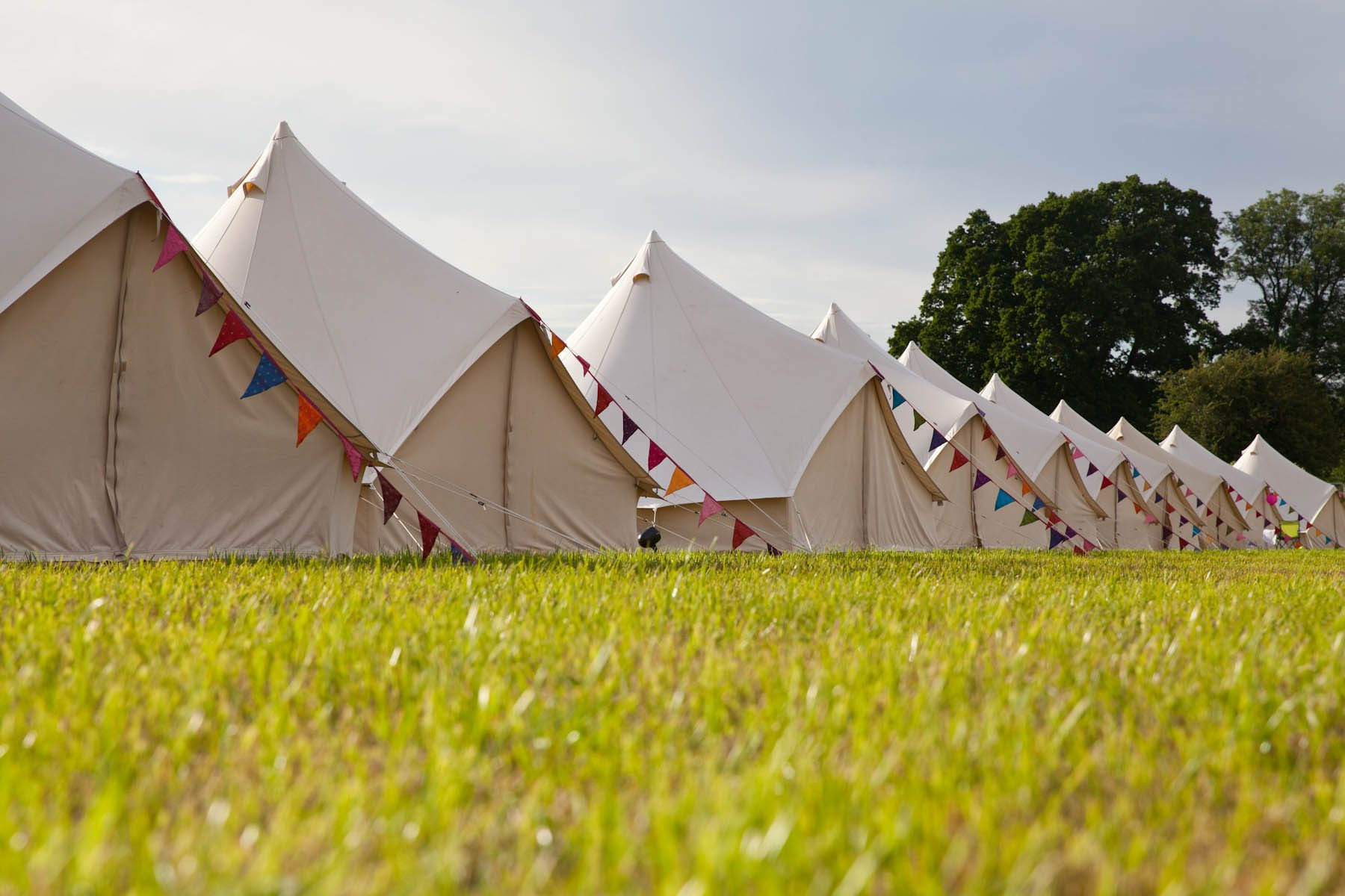 Glastonbury Bell Tent