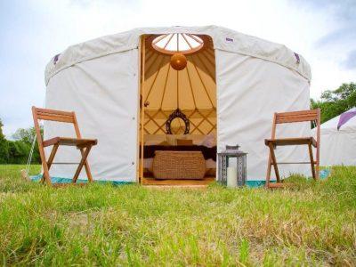 Luxury Yurt Glastonbury